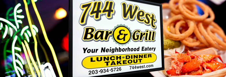 744 West Sign